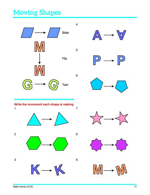small resolution of Congruent Shapes Worksheets Free 3rd Grade   Printable Worksheets and  Activities for Teachers