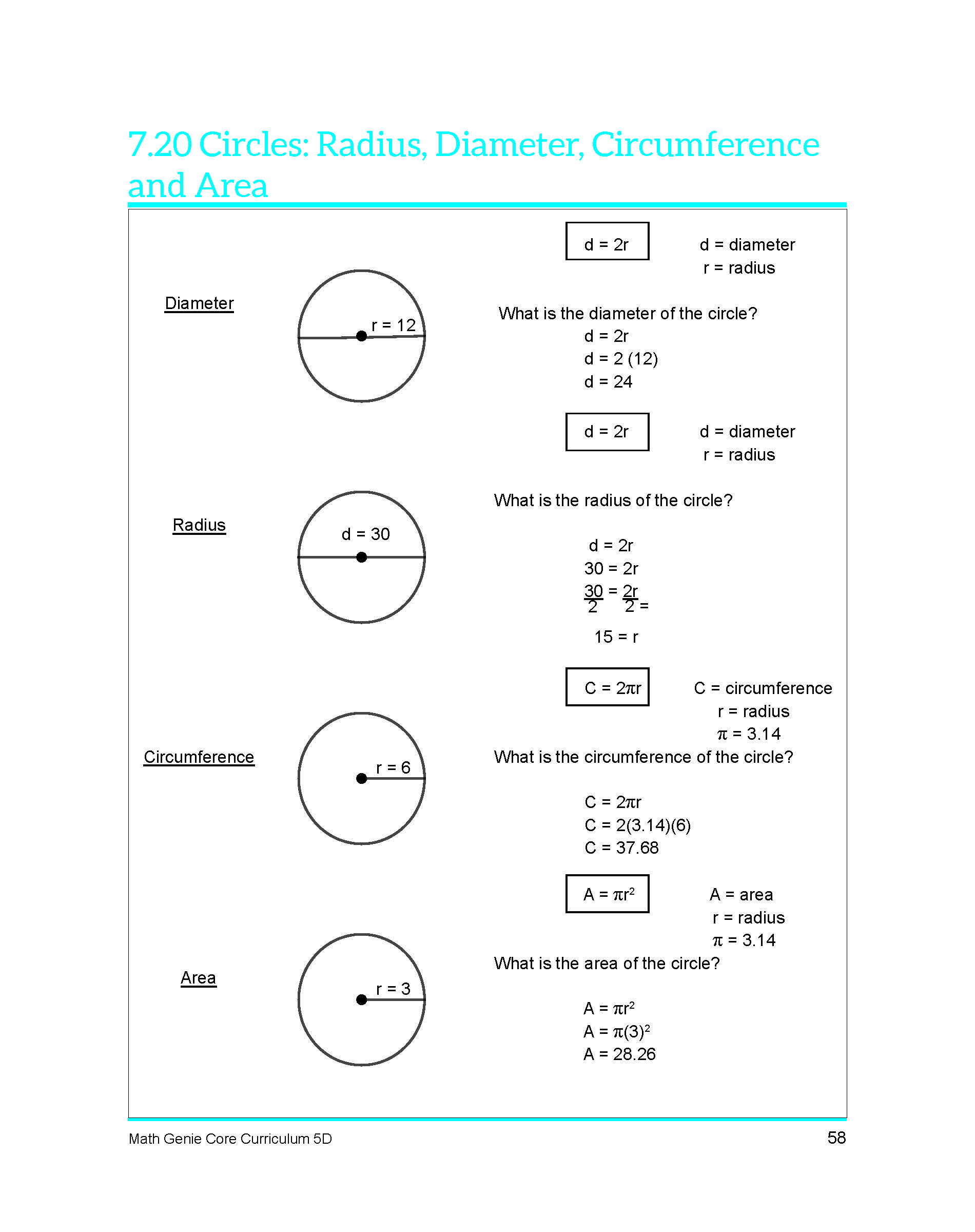 Fifth Grade Course Amp Sample Lessons Math Genie Common Core