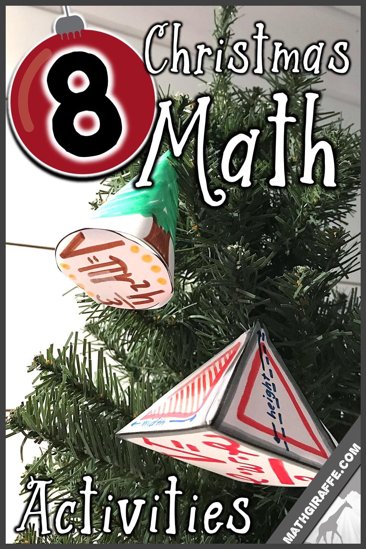 medium resolution of Christmas Activities for Math Class