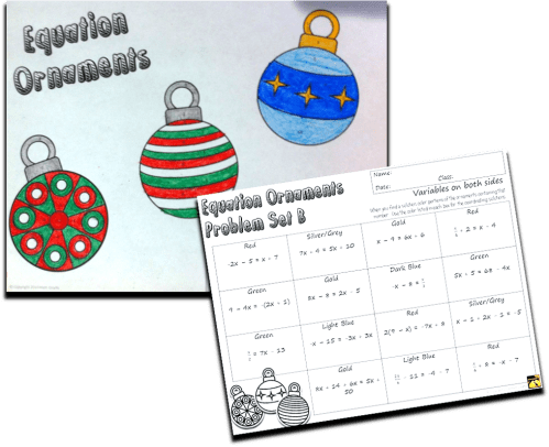small resolution of Christmas Activities for Math Class