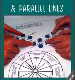 Fun Activities for Parallel Line Theorems \u0026 Angle Pairs Along Transversals [ 1440 x 960 Pixel ]