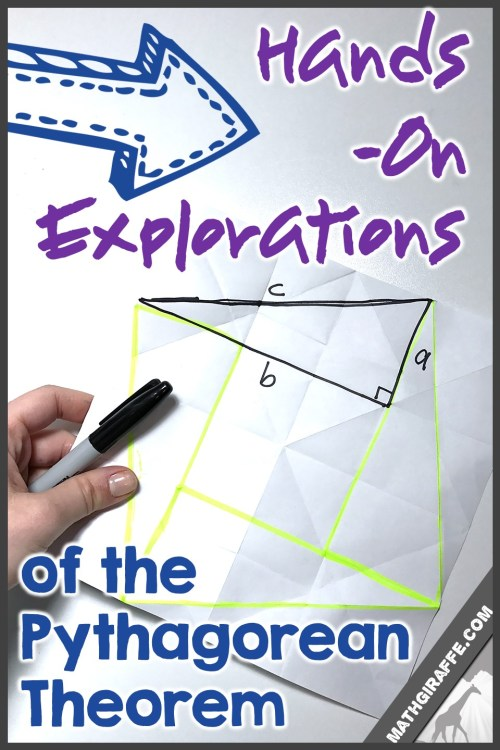 small resolution of Hands-On Activities for Pythagorean Theorem