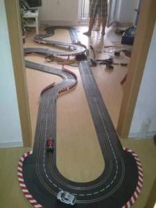 Carrera Bahn - Gesamtansicht