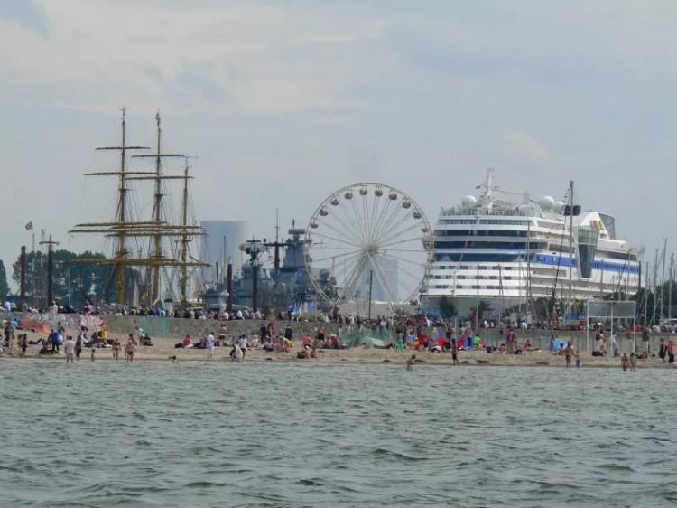 Fotos von Segeltörn zur Hanse Sail auf der Ostsee