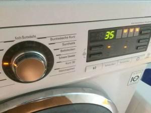 Lego in die Waschmaschine und bei 30 Grad waschen