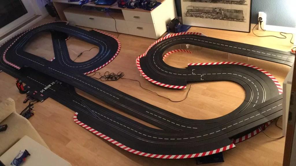 Carrera Digital Streckenplan 17.80m