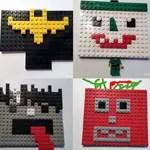 lego Gesichter mit Batman, Joker und Co.