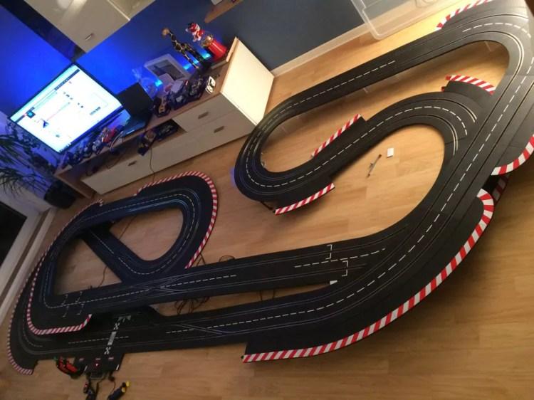 Carrera Digital 1:32 1:24 Streckenlayout 17.80m 4.75x160m