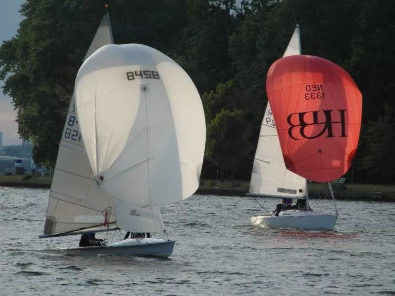 505er segeln kyrwood GER8458 bei der Freitagsregatta 2