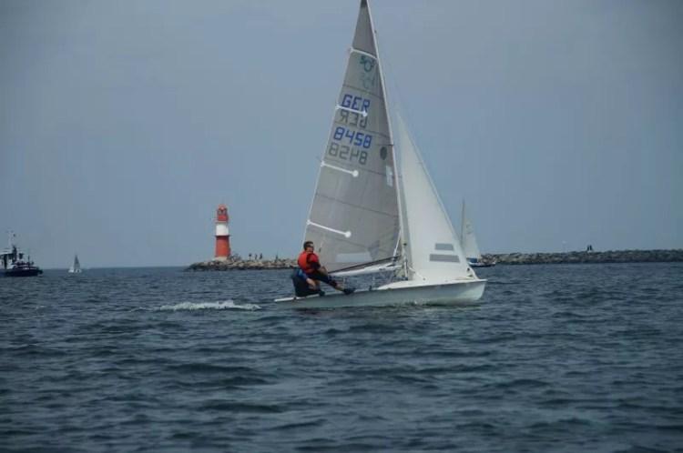 505er segeln kyrwood GER8458 Ostsee
