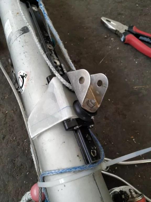 Foto Ronstan Traveller Kugellager repariert 4