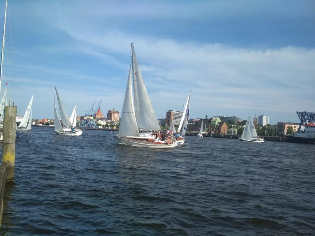 Freitagsregatta Rostock Foto 3