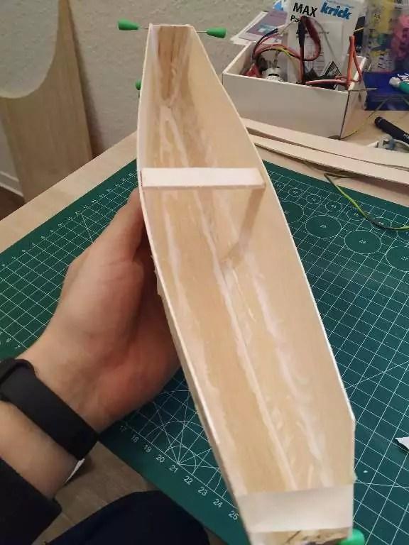 Footy Rc Segelboot Bauen 10