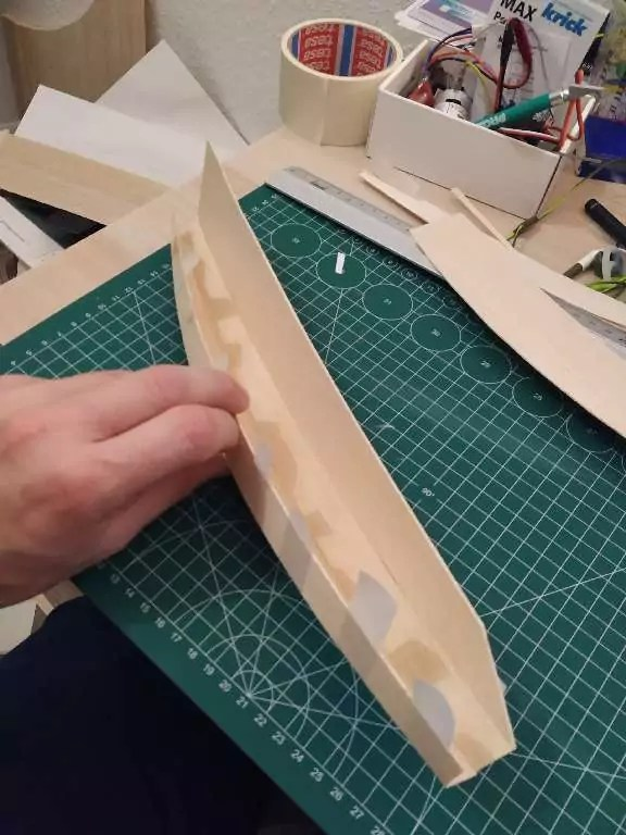Footy Rc Segelboot Bauen 4