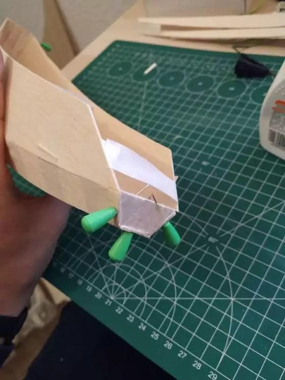 Footy Rc Segelboot Bauen 9