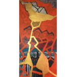 BECOMING WHOLE M. Sager, 2020 Acrylic on wood panel 50 x 100 cm