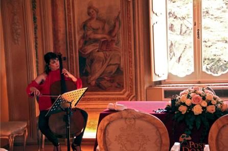 Mathilde suona alla Posta dei Donini
