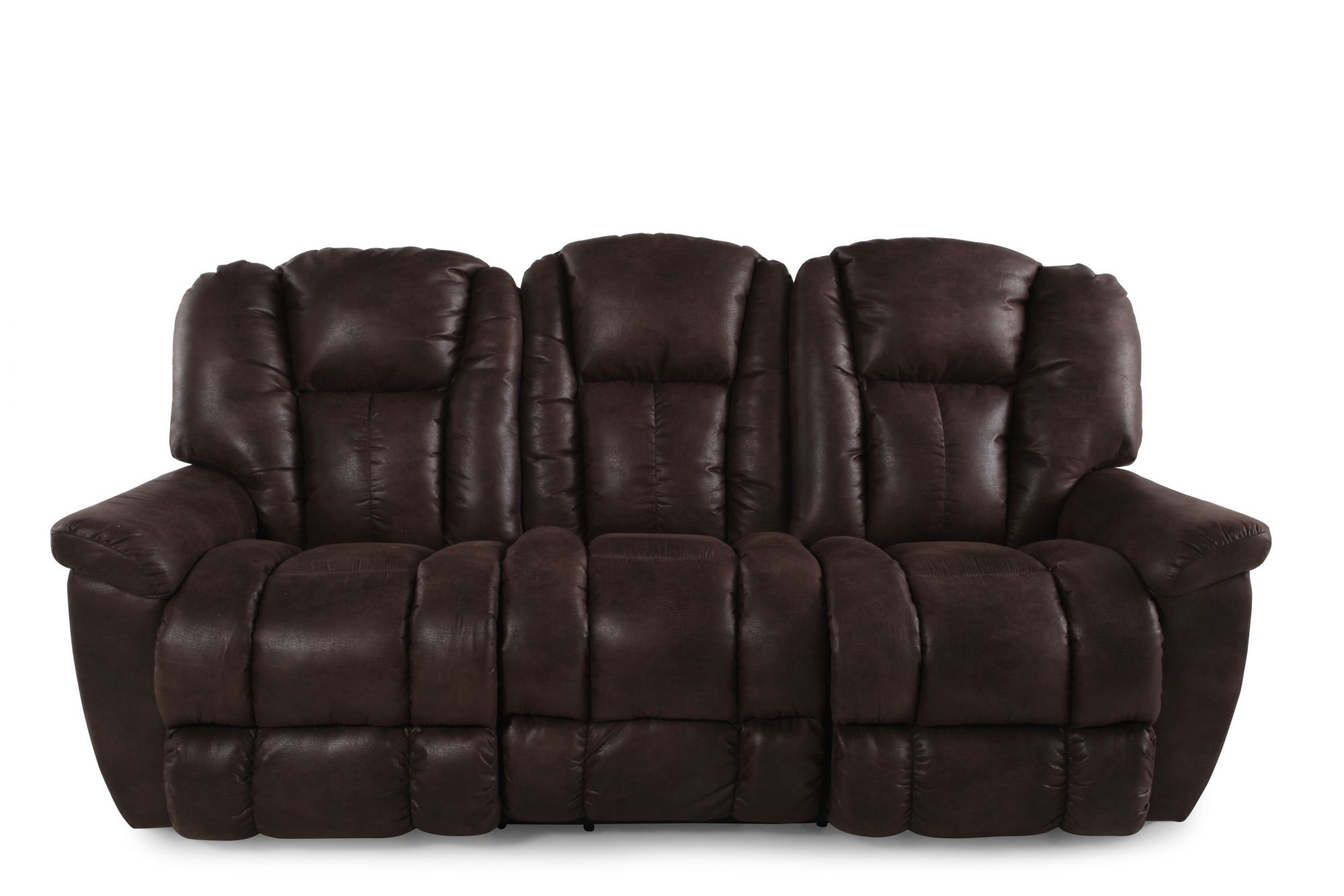 lazy boy maverick recliner sofa modern patio la z mahogany