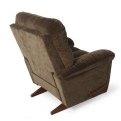 Dark Green Recliner Chair Metal Kitchen Textured Contemporary 38 Quot Rocker In