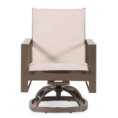 Modern Aluminum Chair Floating Chairs For The Pool Contemporary Swivel Rocker In Beige