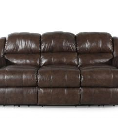Nailhead Recliner Sofa Issy Paris Handball Sofascore Traditional Accented Reclining In Brown