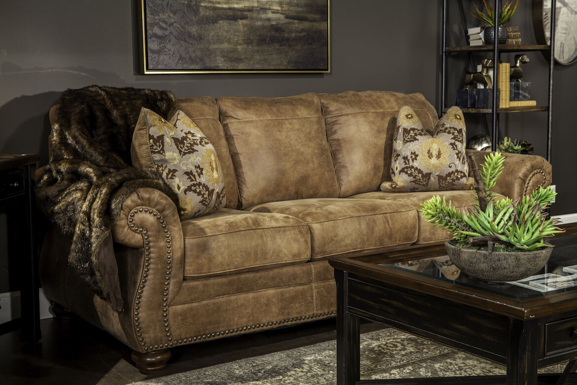 southwestern sofas tropical sofa pillows traditional rolled arm 89 in earth tone mathis quot