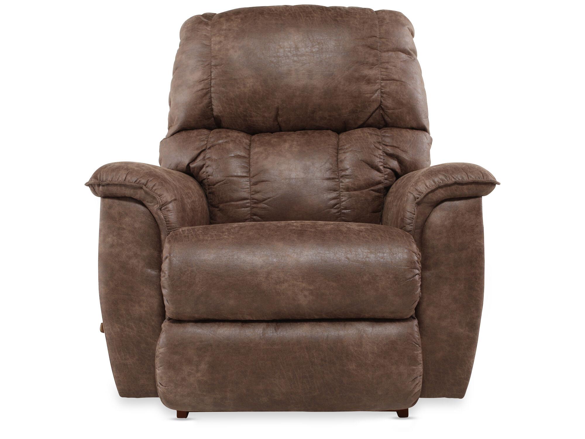 www recliner chairs for restaurants contemporary 38 quot rocker in dark brown mathis