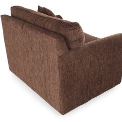 Twin Sleeper Sofa Rooms To Go Smallest Bed Rolled Arm Contemporary 54 Quot Chair In Brown