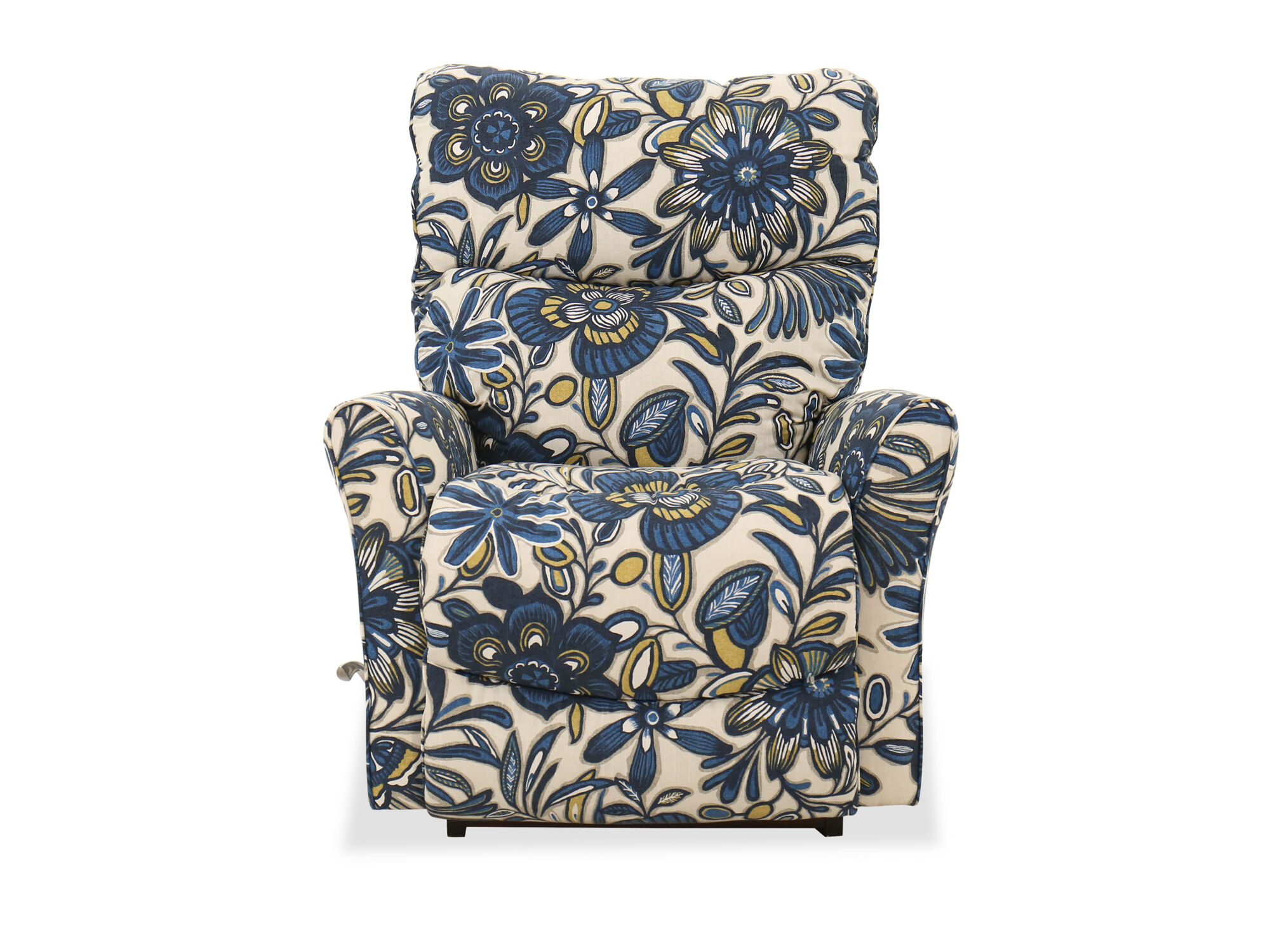 motorized easy chair stickley brothers recliners reclining chairs sofas mathis floral patterned 34 quot rocker recliner