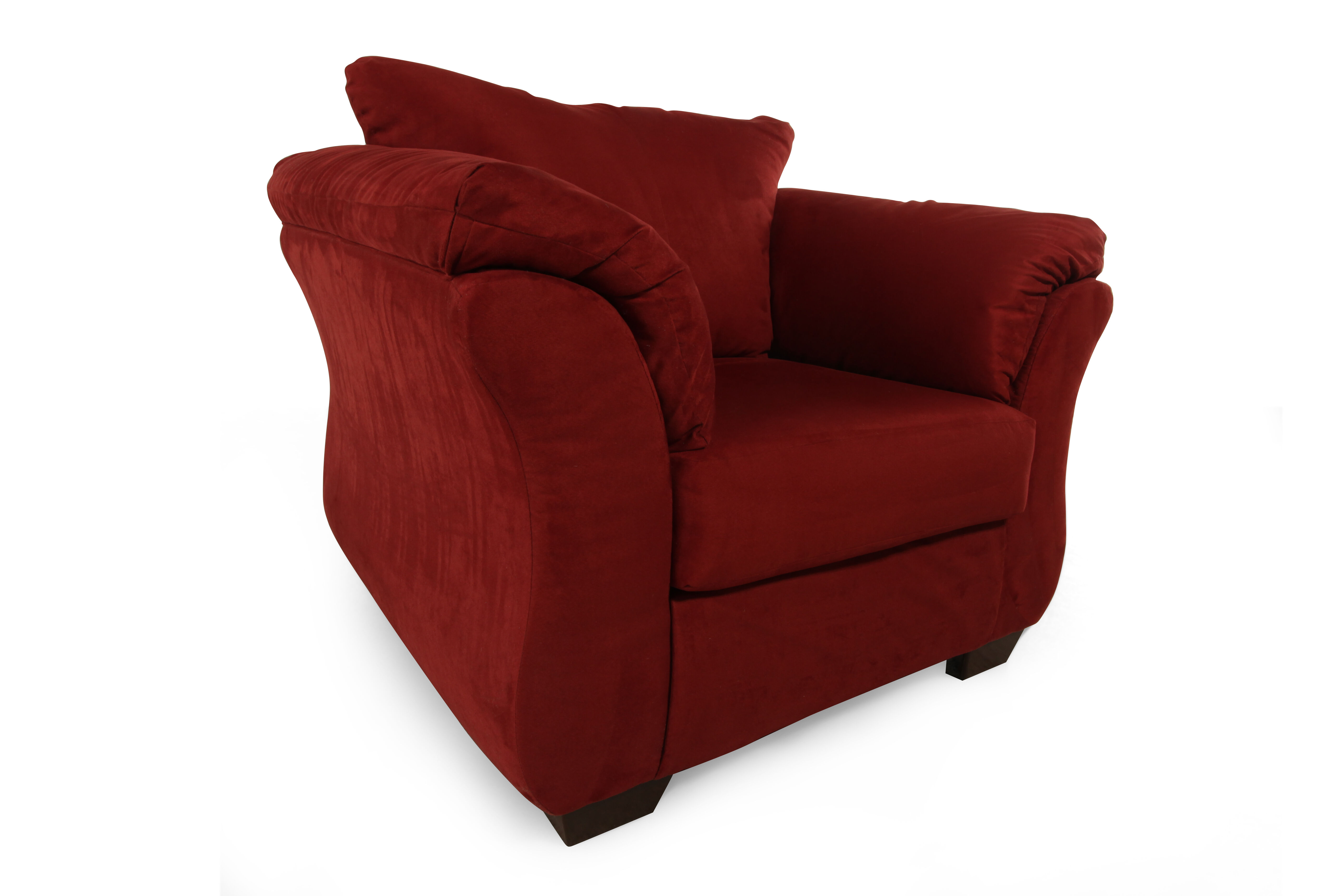 LowProfile Contemporary 46 Chair in Red  Mathis