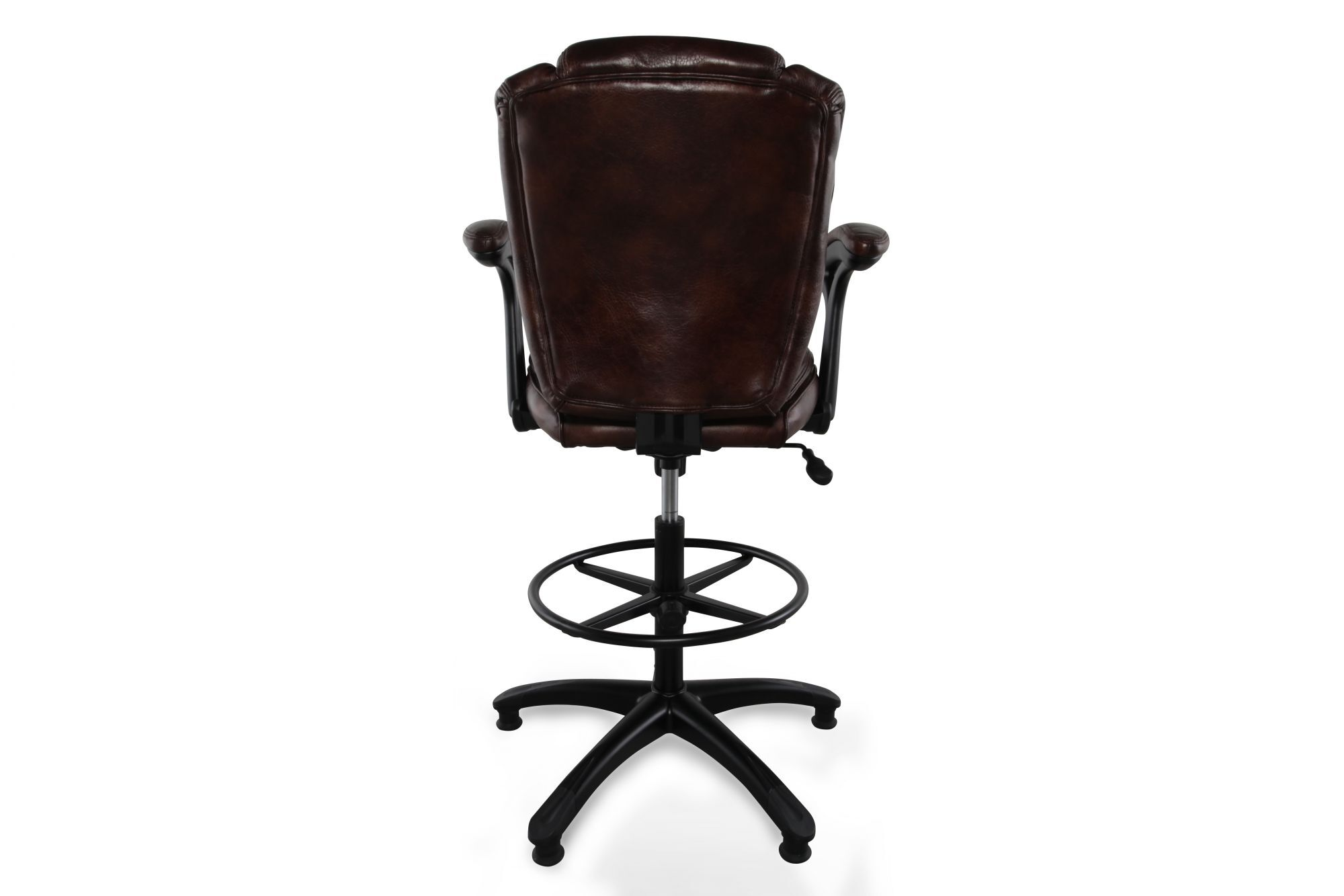 maroon office chairs hanging basket outdoor height adjustable swivel stool in deep mathis