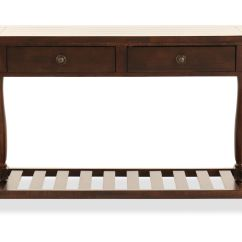 Dark Sofa Tables Mart Fort Wayne Indiana Open Slatted Shelf Contemporary Table In Brown