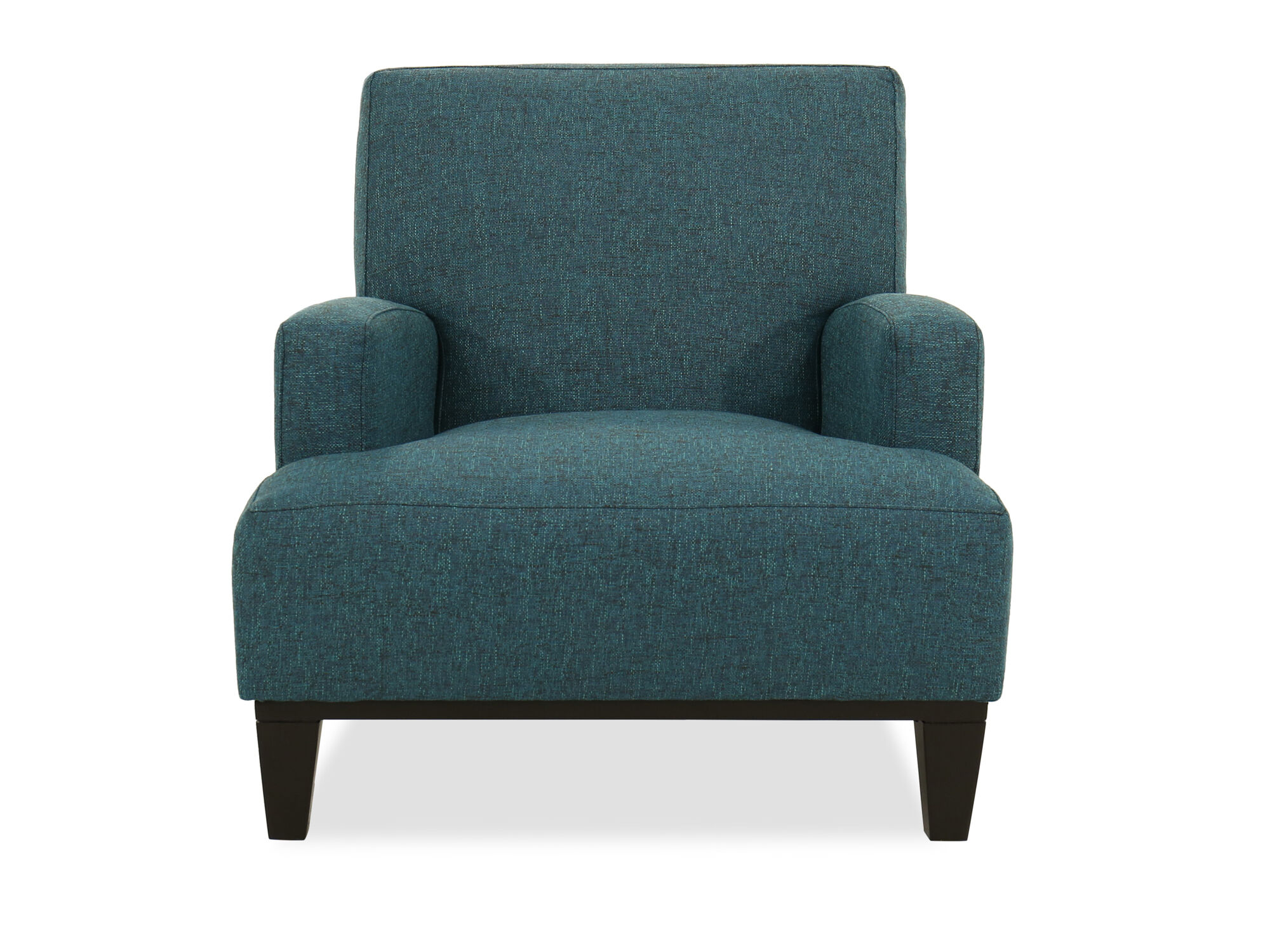 accent chair teal round covers 30 quot in mathis brothers furniture