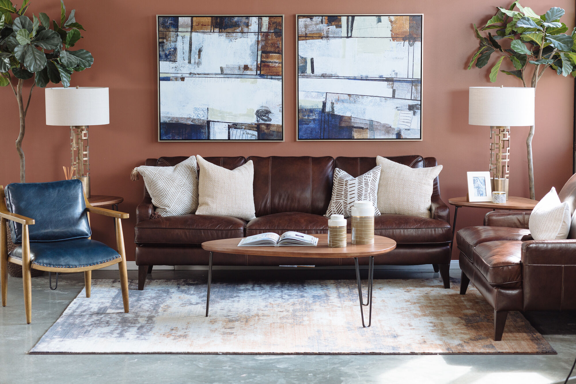 photos of living rooms with leather sofas light grey sofa room decor furniture stores mathis brothers casual in brown