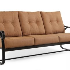 Button Tufted Sofas Sofaore Halls Aluminum Sofa In Brown Mathis Brothers