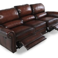 Double Reclining Leather Sofa Sleepers For Small Areas Homelegance Quinn