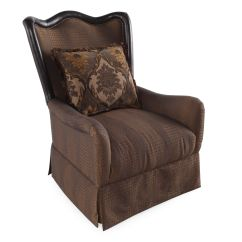 Bedroom Chair With Skirt Chairs At Big Lots Skirted Traditional 32 Quot Accent In Sable Mathis