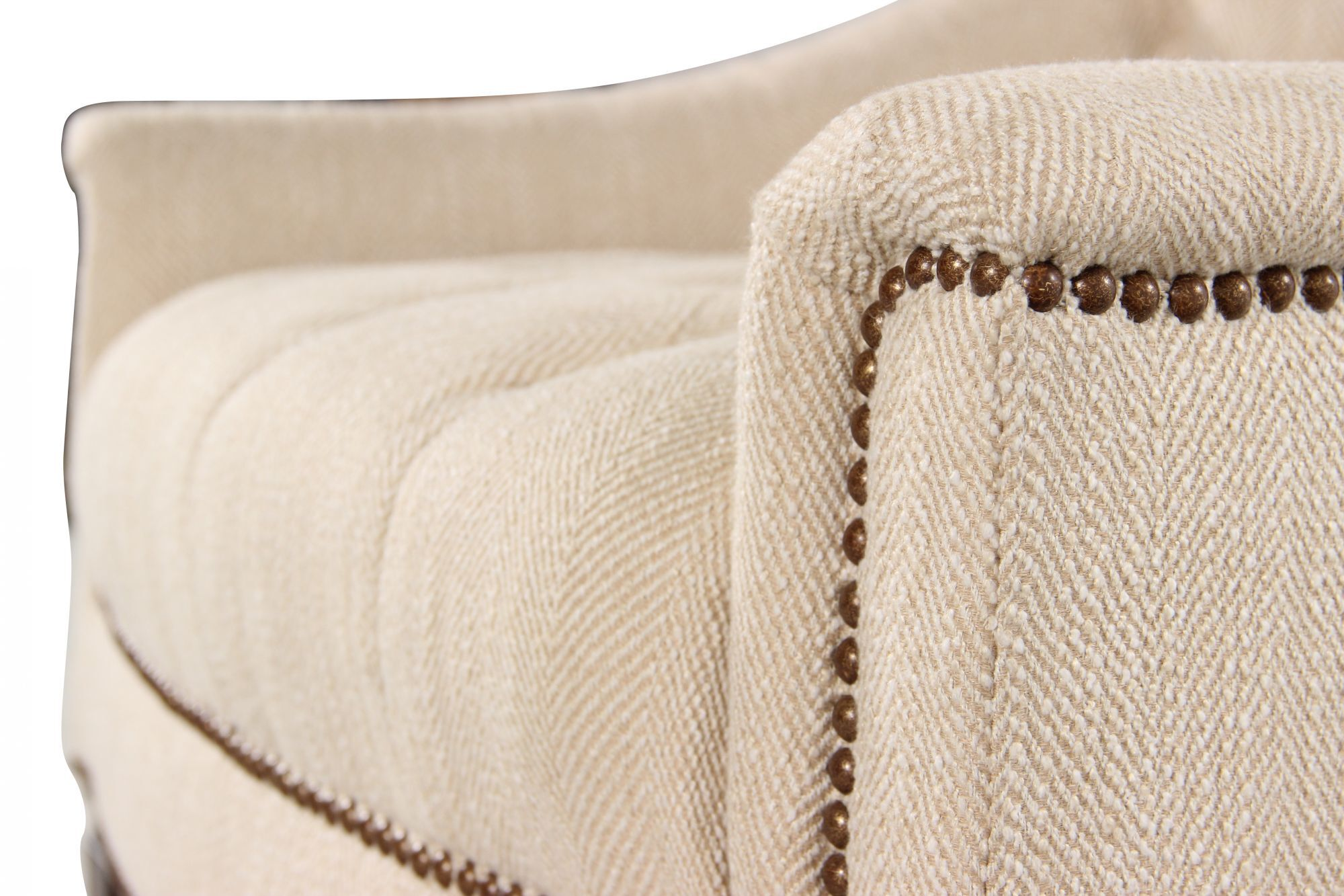 schnadig sofa 9090 air bed india button tufted traditional 33 quot chair in cream mathis