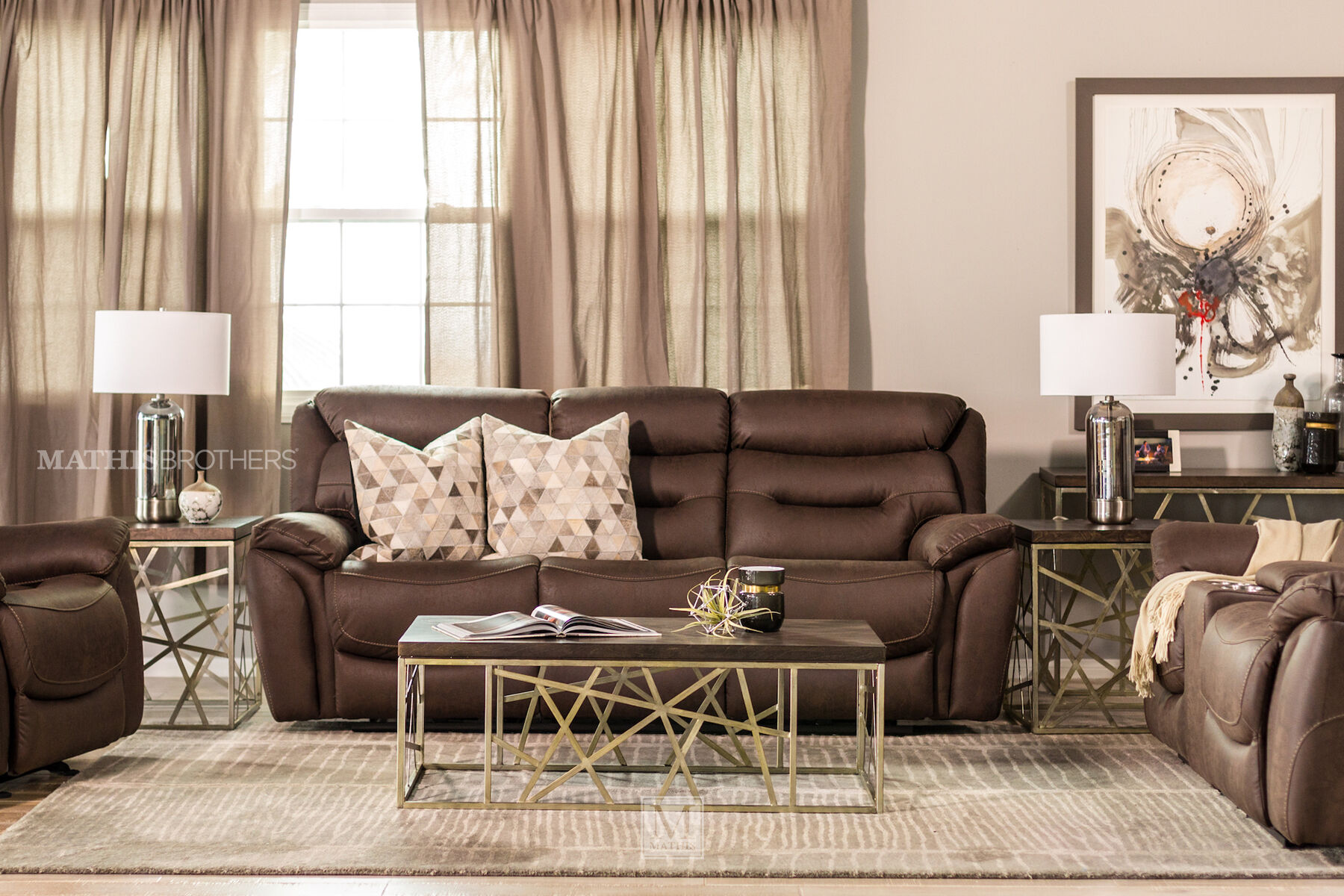 living room furniture ma interior design pictures for in india stores mathis brothers power reclining sofa chocolate