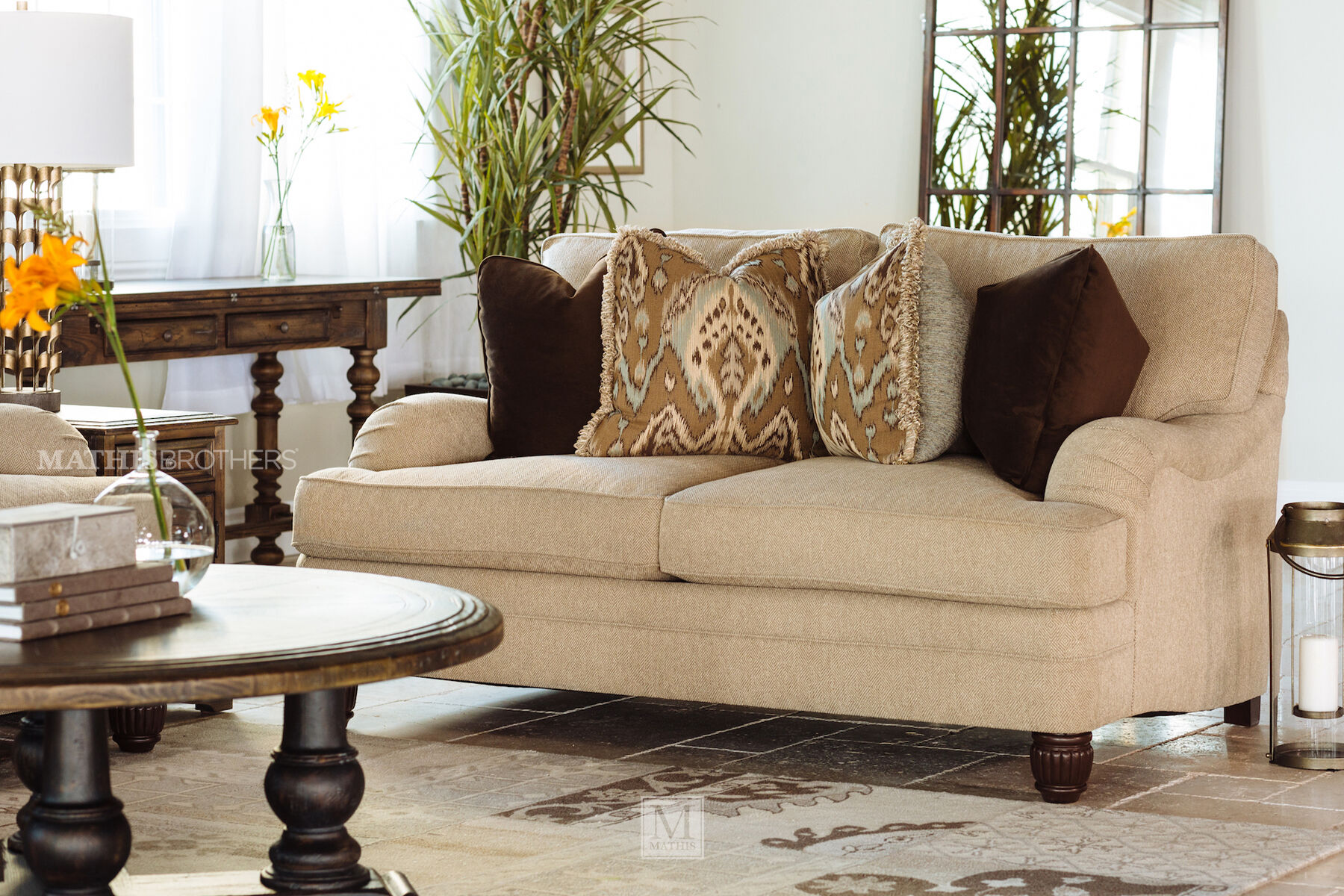 bernhardt walsh sofa black microfiber sectional diamond textured casual 69 5 quot loveseat in beige mathis