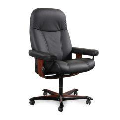 Swivel Chair Office Warehouse Floor Mat For Leather Ergonomic In Black Mathis