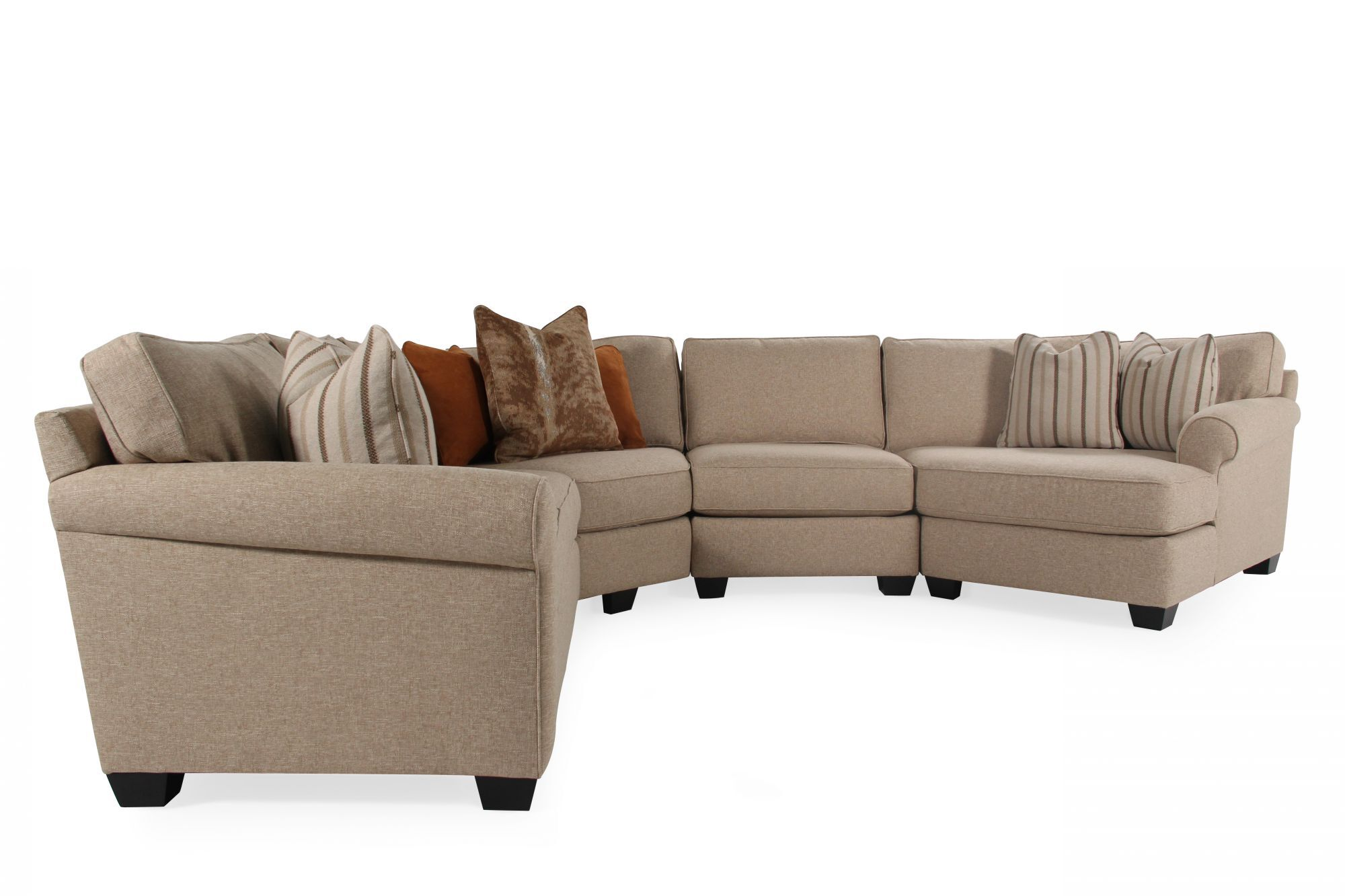 jonathan louis benjamin sectional sofa natuzzi uk prices four piece contemporary in sand mathis