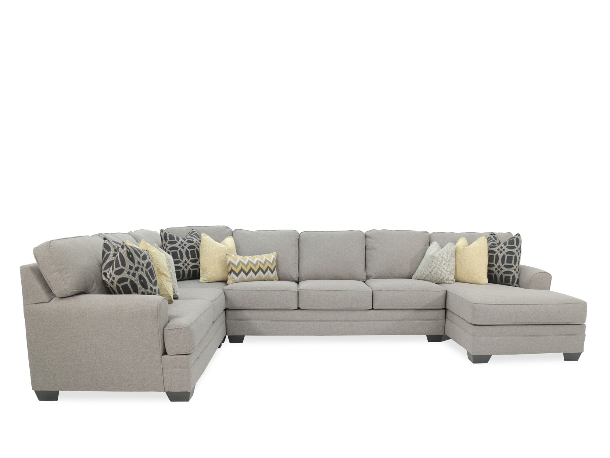 4 piece recliner sectional sofa find sofas for sale four contemporary 155 quot in gray mathis