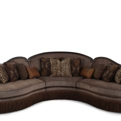 Sectional Sofa Under 2000 Cassius Three Piece Traditional 155 In Sable Mathis Brothers Furniture