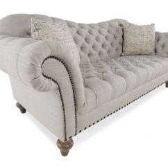 Button Tufted Sofas Farmhouse Contemporary 92 Quot Sofa In Cream Mathis