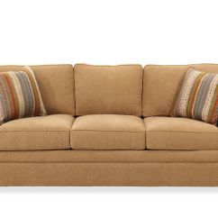 Sofa Bed Reduced Dhp Julia Cupholder Convertible Futon Low Profile Transitional 83 Quot Queen Sleeper In Brown