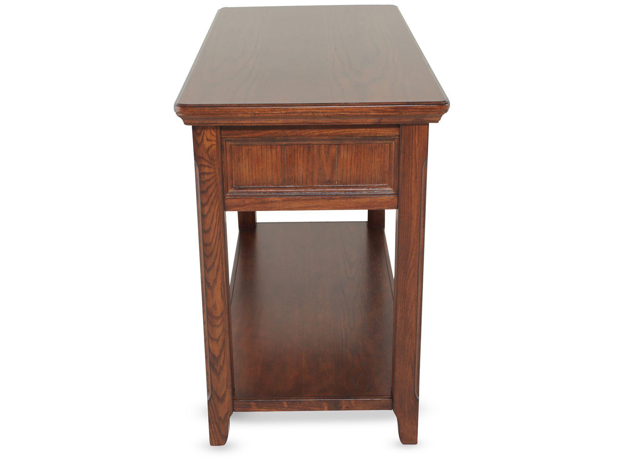 country cote sofa table kivik cover washing two drawer in dark brown mathis
