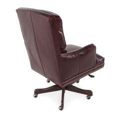 Ergonomic Chair Tilt Unusual Leather Executive Office In Dark