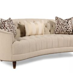 Button Tufted Sofas How To Patch Tear In Leather Sofa Demilune Cream Mathis Brothers