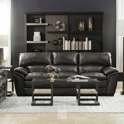 Dark Gray Leather Living Room Furniture Ideas Purple And Grey 93 Sofa In Mathis Brothers Quot